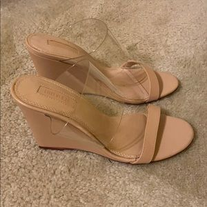 Forever 21 Nude Sandals